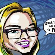 Caricature - Karlie