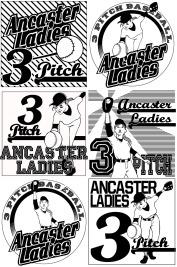 Ladies 3 Pitch Designs
