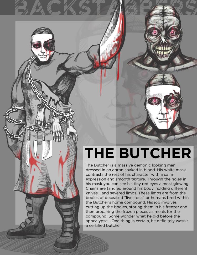 Butcher-concept