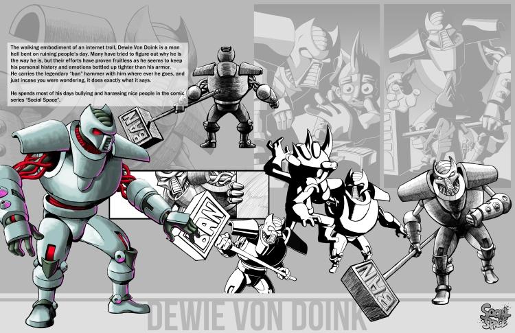Dewie-CharacterStudy