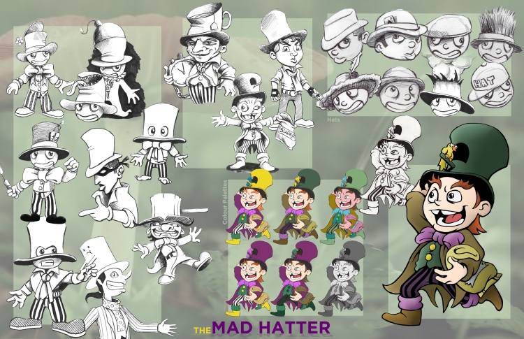 Mad Hatter-CharacterStudy